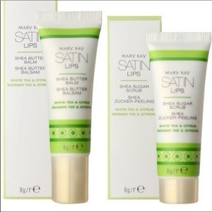 Mary Kay Makeup - Mary Kay Satin Lips Set w/Free Pedi Brush & Pads